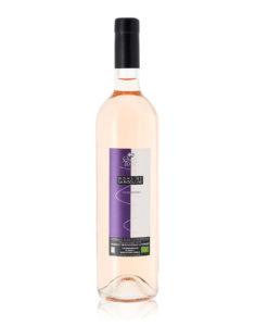 bouteille quatre tours rose domaine la rigouline bio