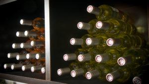 Casiers vins rosés et blancs