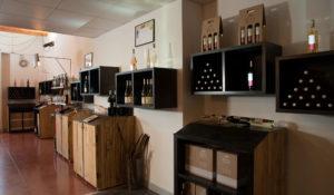 Rayon vins bouteilles Quatre Tours