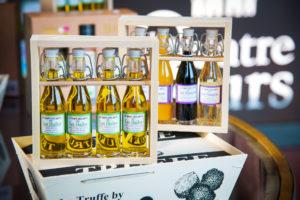Coffret de 4 flacons d'huile d'Olive - Le Temps des Mets