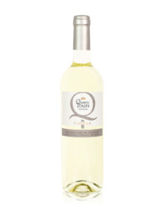 bouteille quatre tours blanc classique